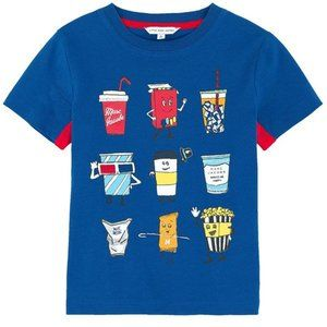 Little Marc Jacobs Kids Blue T-Shirt Boys Size 4A